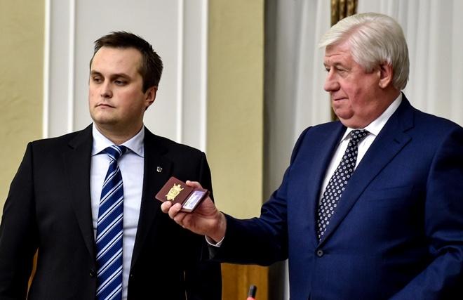 Шокин представил Холодницкого 1 декабря.