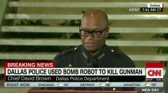 Глава полиции Далласа Дэвид Браун.