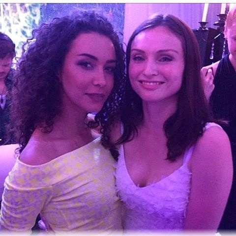 В  Одессе Анетти получила массу удовольствия от выступления  британской певицы Софи Эллис Бекстор.