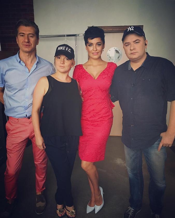 Юрий Никитин, Инна Белоконь, Даша Астафьева и Андрей Данилко.