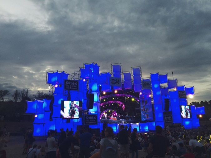 Главная сцена фестиваля