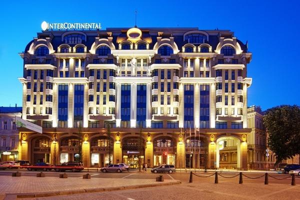 Гостиница InterContinental Kiev.