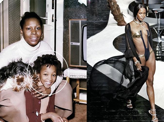 Мама Наоми Кэмпбелл хотела, чтобы дочь танцевала.
