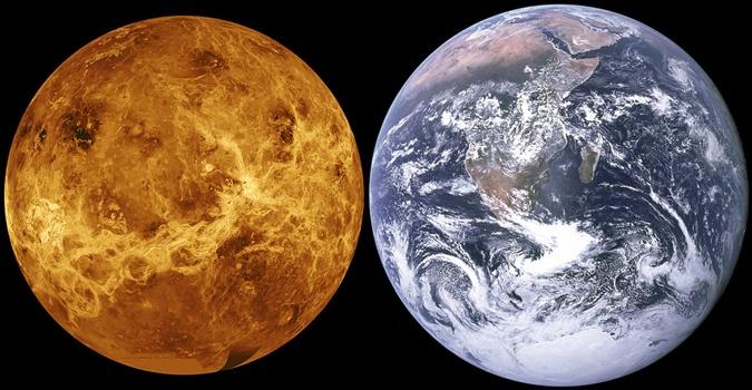 Планету часто называют злым близнецом Земли. Фото: wikipedia.org