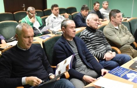 Известные тренеры проходят переподготовку. Фото: ffu.org.ua