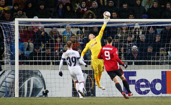 Златан отличился в Одессе. Фото: reuters.com