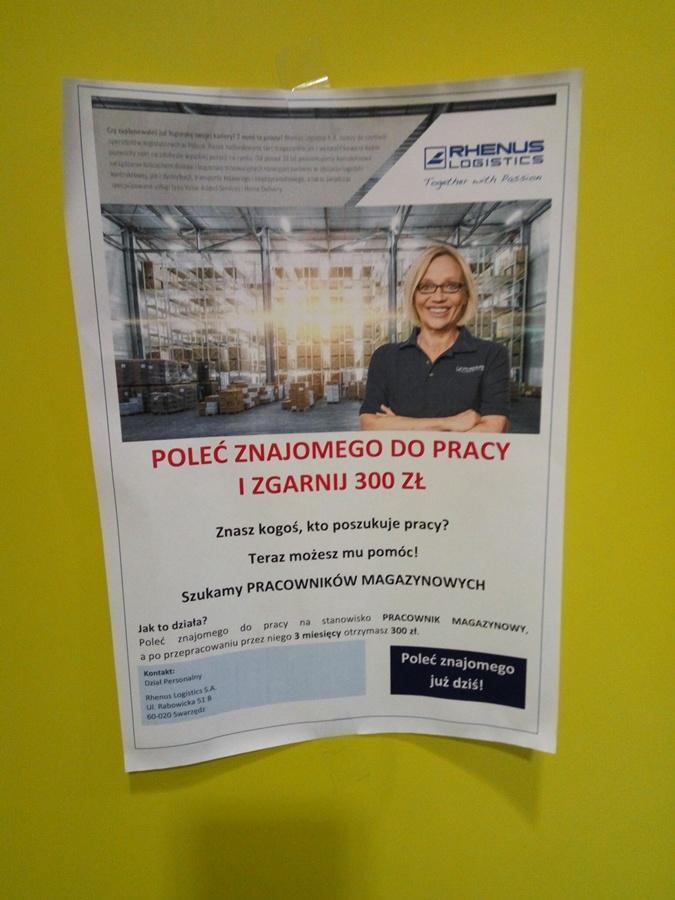 На польских предприятиях платят тем, кто помогает найти работников.
