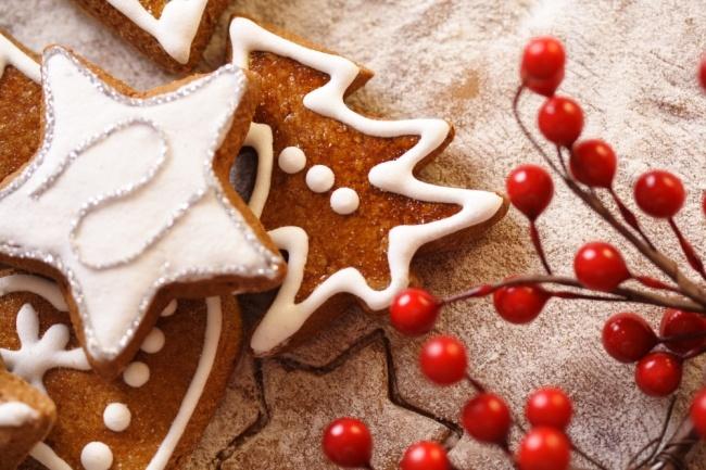 Имбирное печенье с миндалeм. Фото: Соцсеть