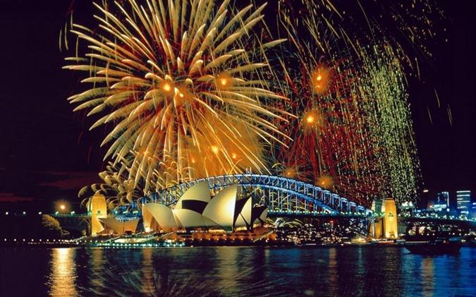 В 15.00 Новый год придет к жителям части восточной Австралии.
