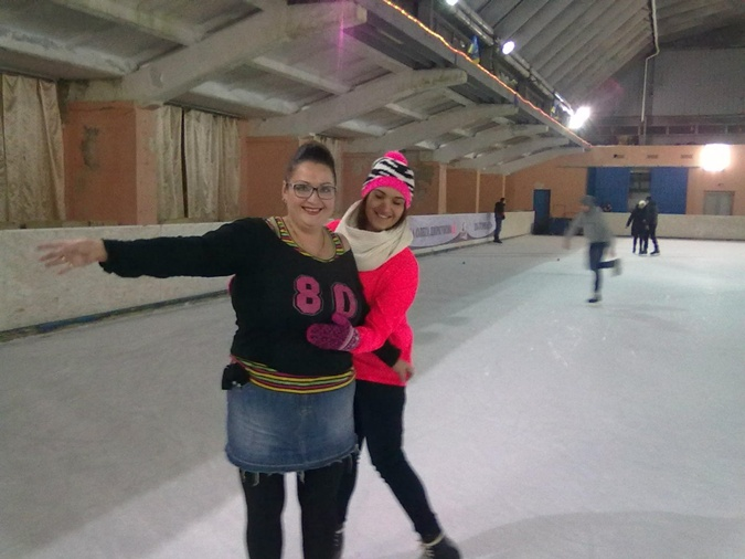 Евгения участвовала в проекте вместе с дочерью-студенткой.