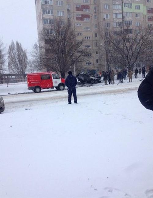Сообщается о гибели двоих. Фото: Твиттер пользователь Иван Короткий