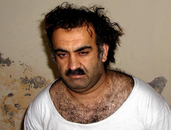 Халид Шейх Мохаммед после ареста в 2003 году.