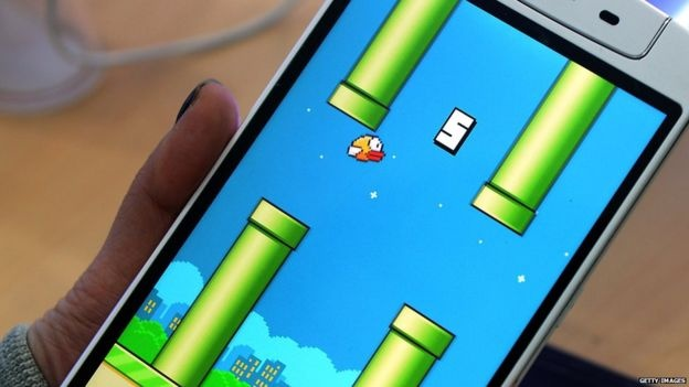 Фото: BBC Flappy Bird