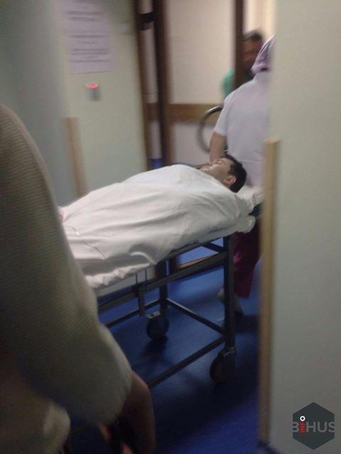 Насиров в больнице утром 3 марта.