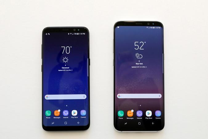 Главной инновацией нового смартфона в Samsung считают безрамочный дисплей.