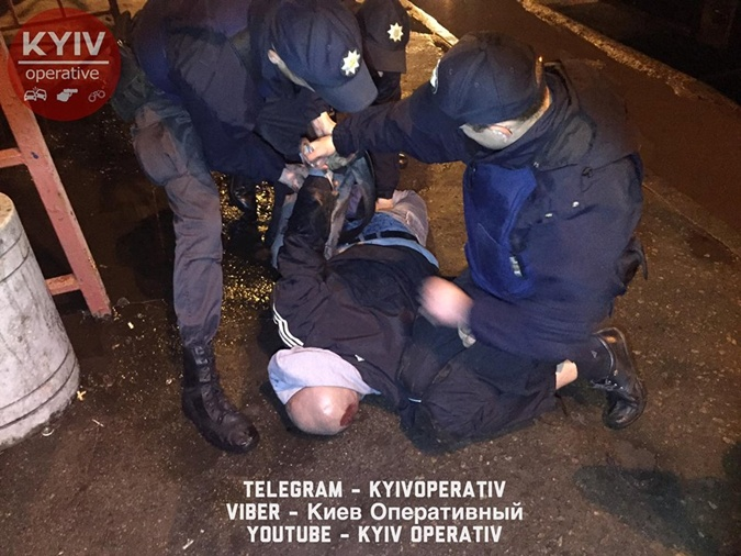 Задержанные дебошир. Фото: ФБ