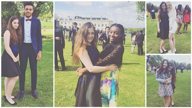 Дочери Порошенко в этом году заканчивают Concord College.