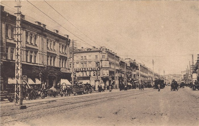 Номера Кане (слева) на фото начала ХХ в.