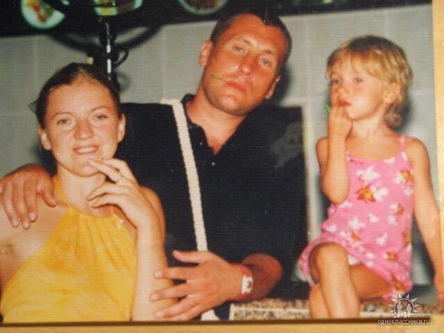 Филипковский с семьей. Фото 2010 года