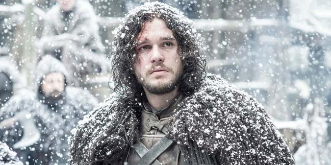 Король Севера Джон Сноу.