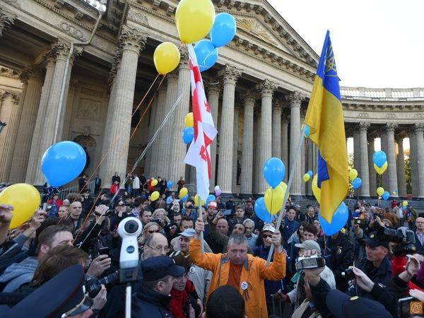 В Питере запретили проукраинскую акцию фото 1