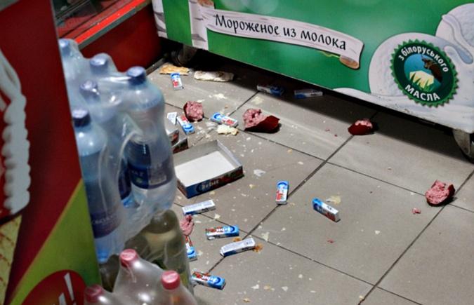 Два енота разгромили магазин на Буковине фото 3