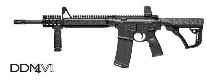 В арсенале стрелка было четыре винтовки DDM4.