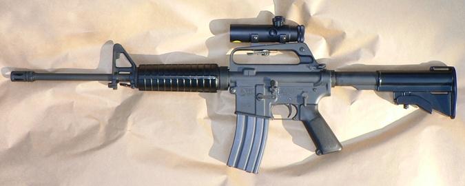 Colt AR-15.