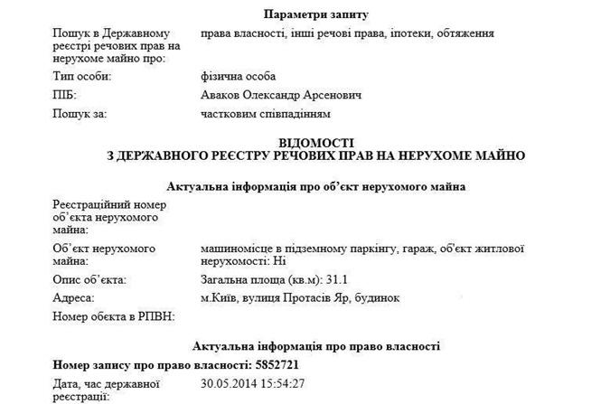 Сыну руководителя МВД Украины предъявили обвинение вкоррупции