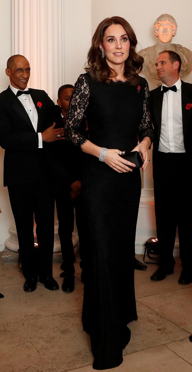 Кейт Миддлтон сейчас на четвертом месяце беременности. Фото: REUTERS