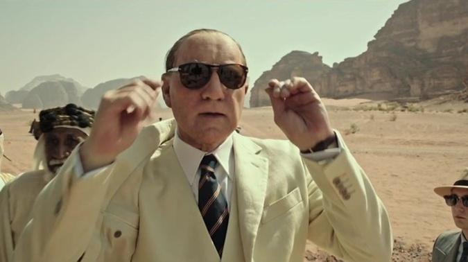 Спейси вырежут, несмотря на то, что в фильме его не узнать из-за грима.