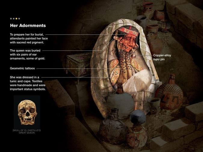 Ученые реконструировали внешность перуанской королевы Уармей. Фото: news.nationalgeographic.com
