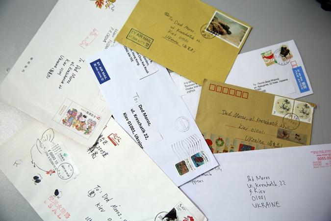 В 5-ти  парках столицы открылась почта Деда Мороза