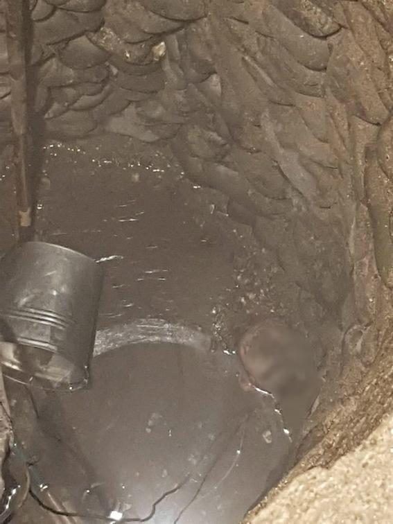 Тело мужчины нашли в колодце.