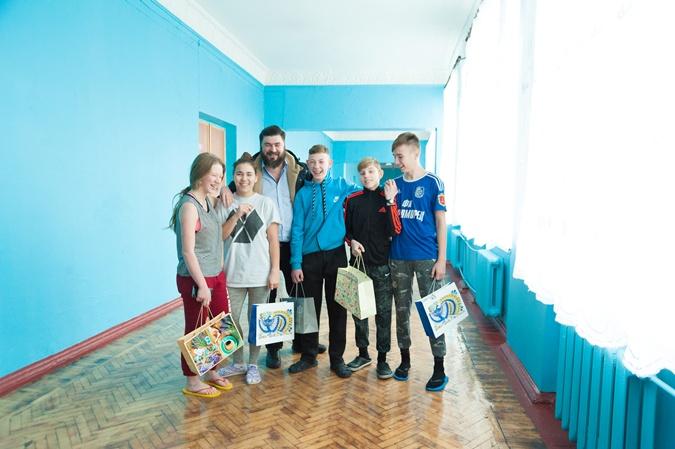 Бизнесмен Дмитрий Пархоменко помог одесской школе-интернату №5 фото 1