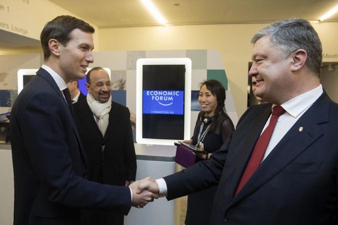 Порошенко пригласил в Украину старшего советника (и зятя) президента США Джареда Кушнера.