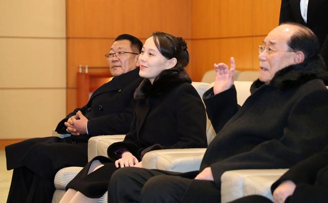 Младшая сестра Ким Чен Ына прилетела на открытие Олимпиады  фото 1