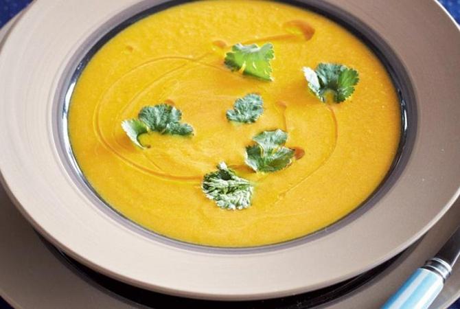 Постный тыквенный суп-пюре рецепт