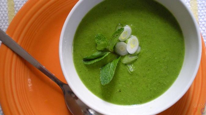 Постный гороховый суп-пюре рецепт