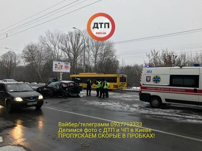ВКиеве вДТП умер экс-сотрудник милиции: размещены кошмарные фото