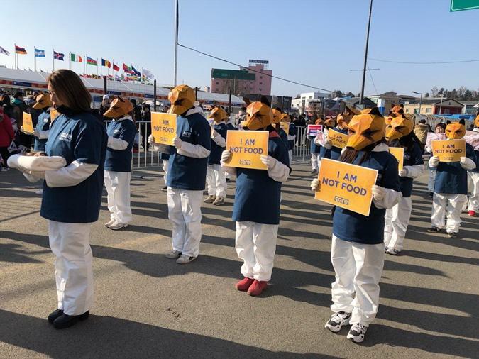 Закулисье церемонии закрытия Олимпиады-2018: русскоговорящие перекупщики и парад протестов фото 6