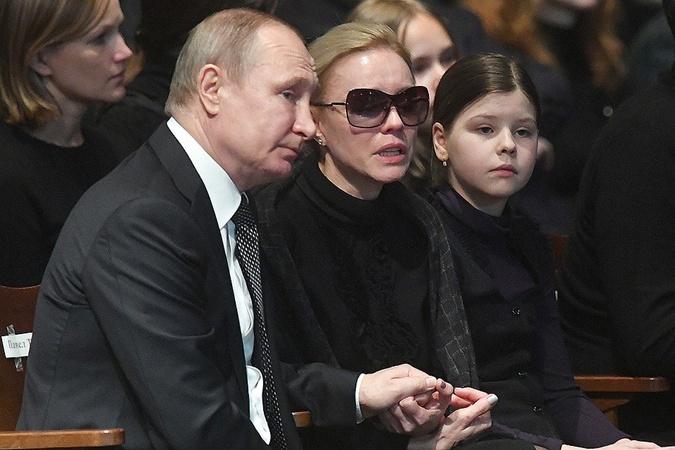 Путин и вдова Табакова.