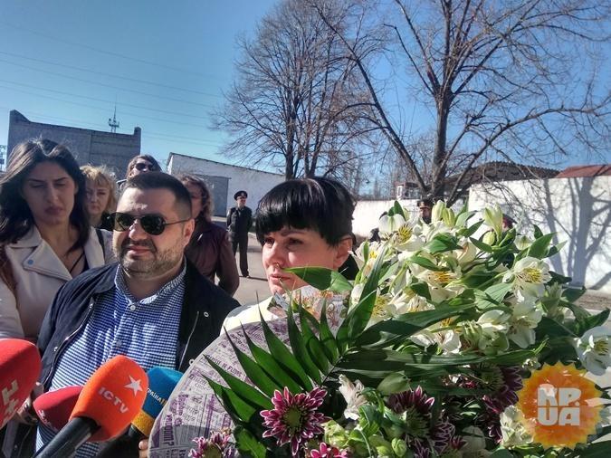 Кушинская вышла на свободу. Фото: Мария СОЛОДОВНИК