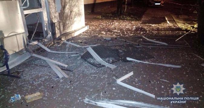 Взрыв произошел у здания энергетической компании в Киеве