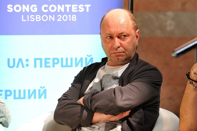Председатель жюри - продюсер Виталий Климов. Фото: UA:Перший