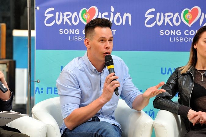 Член нацжюри Евровидения - ди-джей и певец Денис Жупник. Фото: UA:Перший