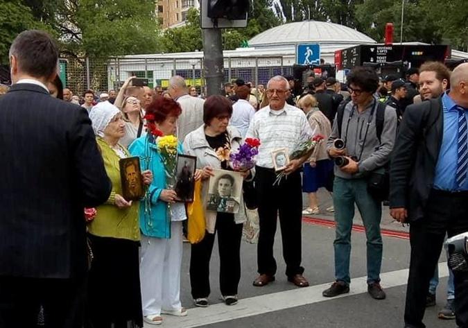 В Киеве собираются участники марша