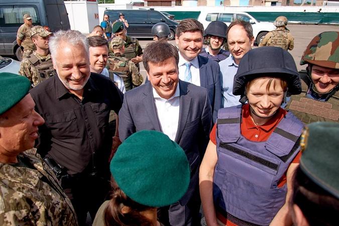Президент Эстонии посетила Донбасс фото 1