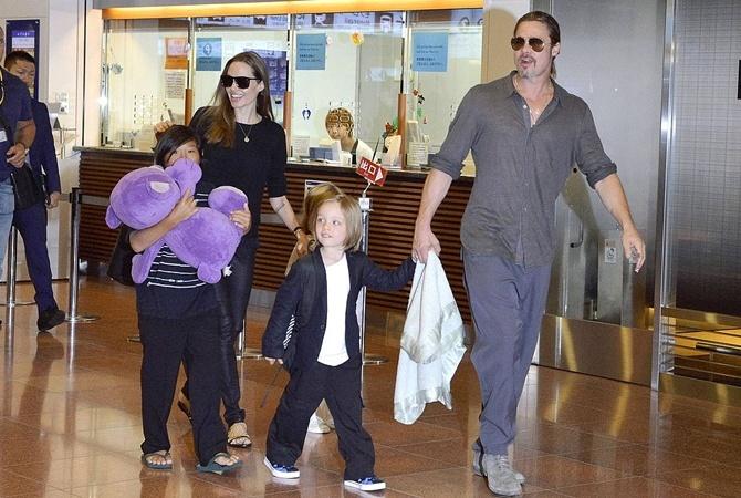 Джоли могут лишить опеки над детьми фото 1