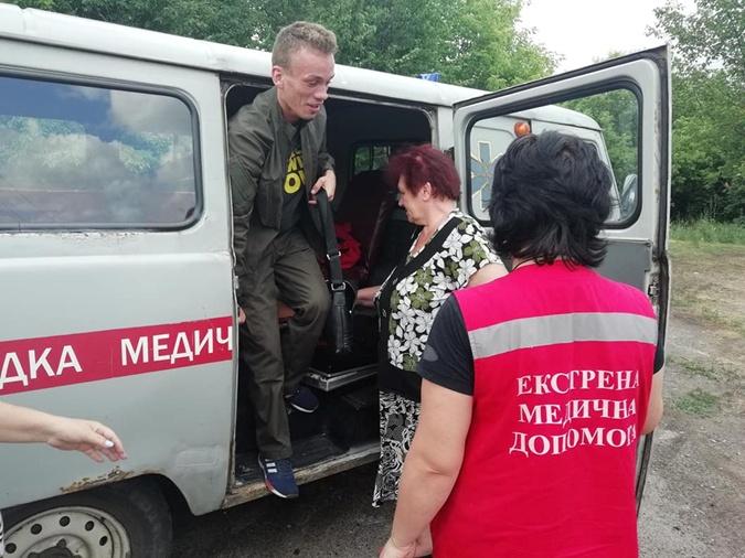 После происшествия подростку понадобилась помощь докторов. Фото: ФБ Влада Самусенко.
